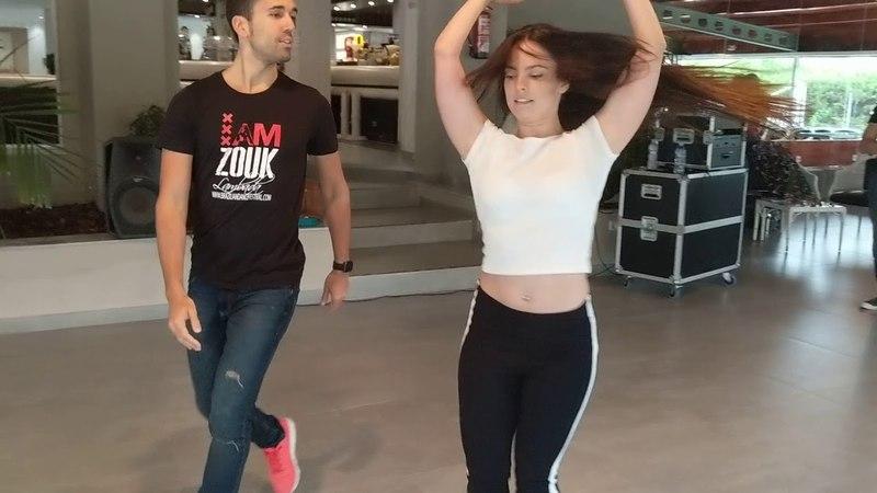 BDA2018 class demo with Vivian David ~ video by Zouk Soul