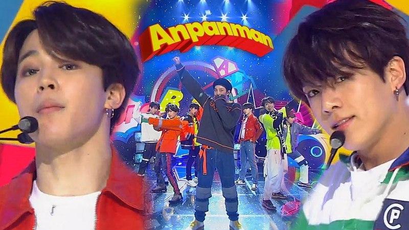《Comeback Special》 BTS 방탄소년단 ANPANMAN @인기가요 Inkigayo 20180527