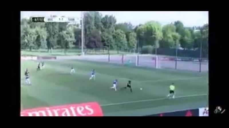 Riccardo Tonin - This is the amazing goal - Milan-Sampdoria.