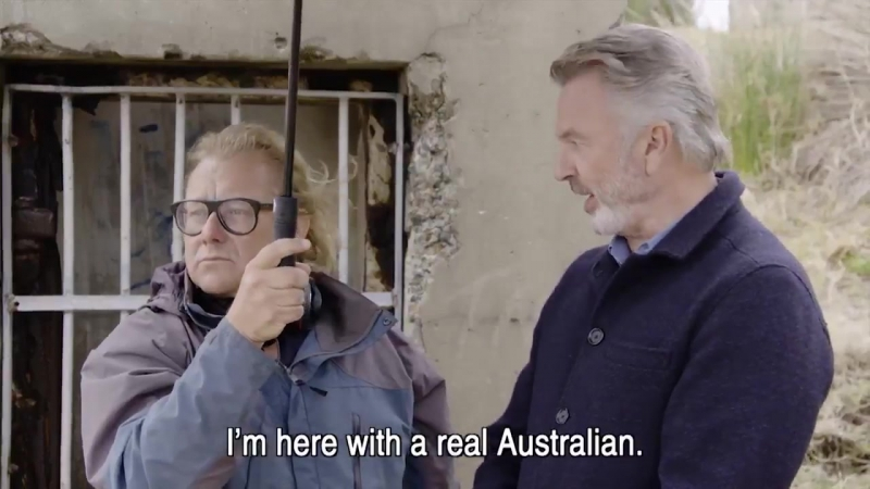Sam Neill Introduces Hunt for the Wilderpeople for Australia Day