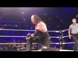 Undertaker, Roman Reigns Braun Strowman vs Kevin Owens Baron Corbin Elias - WWE MSG 2018