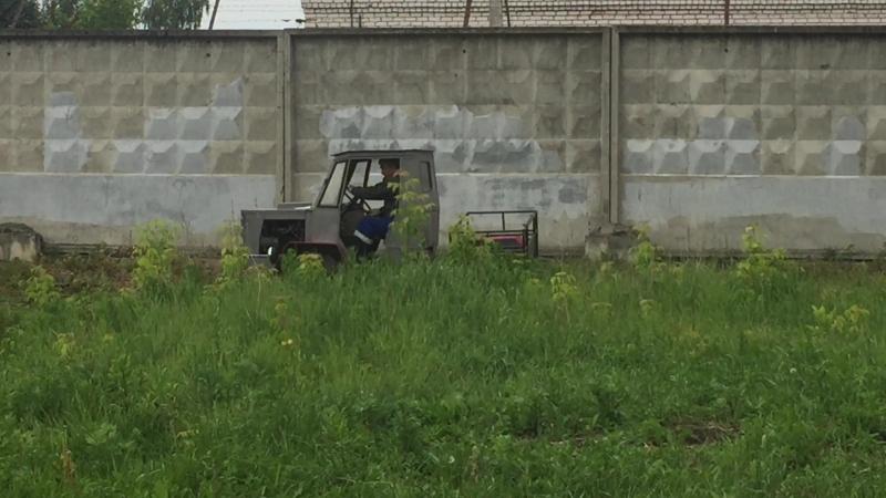 Испытания Самодельного трактора МинТЗ- т 150 г.Н.Новгород Минин Игорь «Нижегородский Кулибин».