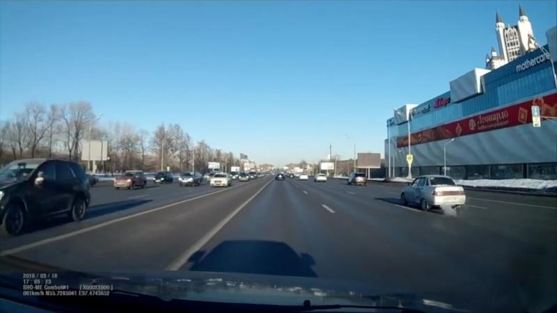 Жёсткое ДТП Кутузовский проспект.