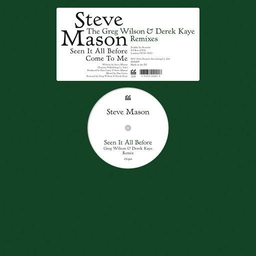 Steve Mason альбом Seen It All Before/Come To Me - The Greg Wilson & Derek Kaye Remixes