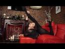 Gymnastik Girl Anya Beautiful Contortion