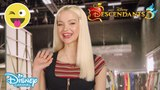 Descendants 3 BTS Message from Dove Cameron! Official Disney Channel UK