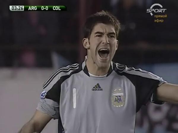 06 06 2009 Чемпионат мира Отборочный турнир Аргентина Колумбия 1 0
