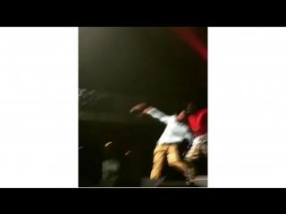 Тайлер выступил на концерте своего любимого рэпера Карти🔥