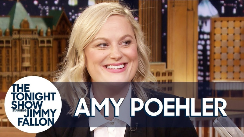 Amy Poehler Reunited with SNL Alums Tina Fey Rachel Dratch and Horatio Sanz for Improv