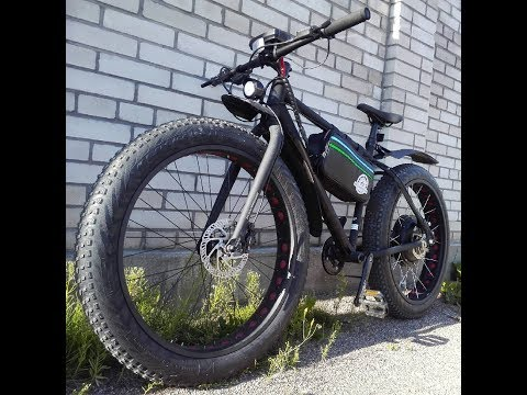 Электро фэтбайк геркулес Второй на той же раме Электрофэтбайк Electric Fatbike