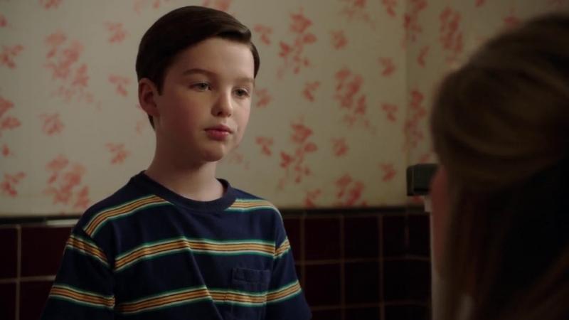 Young sheldon 1x17 Ницше