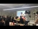 Начало обучения китайских студентов