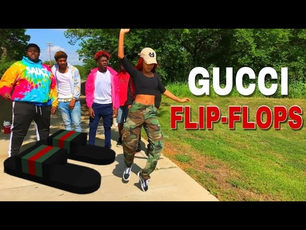 Bhad Bhabie feat Lil Yachty - Gucci Flip Flops (Official Dance Video) | Danielle Bregoli