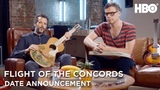 Flight of the Conchords Live at the London Apollo (2018) Date Announcement HBO