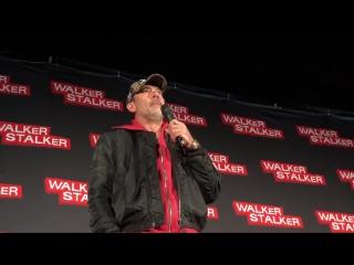 ↳ JDMorgan na Walker Stalker Convention em New Jersey (O9.12.2O17) ― JHBR
