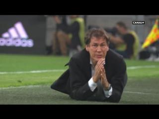 Тренер «Марселя» Гарсия обиделся на неназначенный пенальти