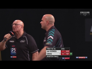 Michael van Gerwen vs Rob Cross (Grand Slam of Darts 2017 / Quarter Final)