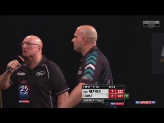 Michael van Gerwen vs Rob Cross (Grand Slam of Darts 2017 / Quarter Final)