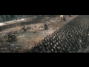 Король выходит на поле битвы Хоббит Битва пяти воинств