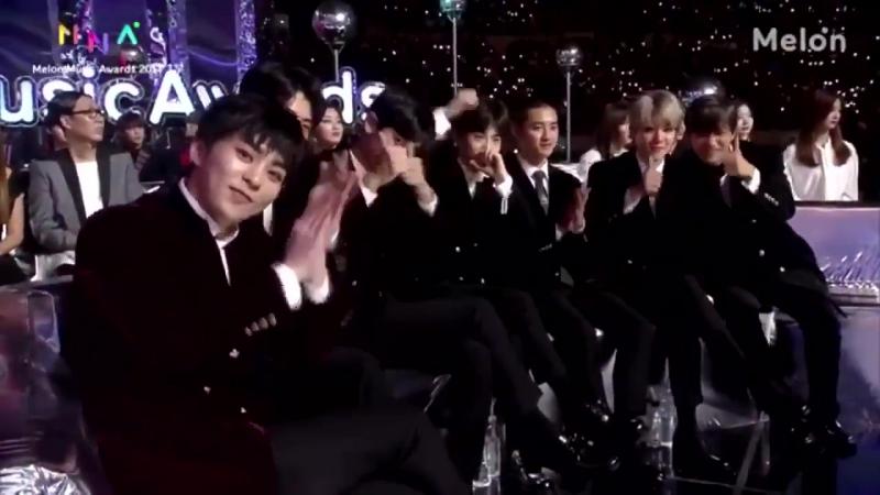 171202 EXO - Nosedive (Chen х Dynamic Duo) @ MelOn Music Awards 2017