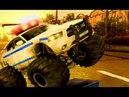 Монстр Трак Полицейские Машины Полиция Мультики про Машинки Игры для Детей