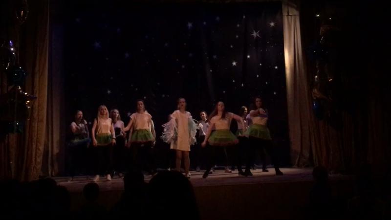 2 отряд массовый танец
