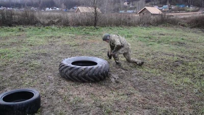 Специальная физическая подготовка на проекте Один день в Спецназе