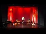 На концерте Корейской Традиционной Музыки и Танца.28 октября в Национальном театре.