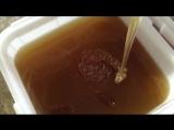 Мёд из лугового разнотравья после откачки