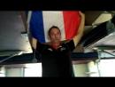 Эрик из Франции поёт Марсельезу в поезде Питер-Москва (26.06.2018)