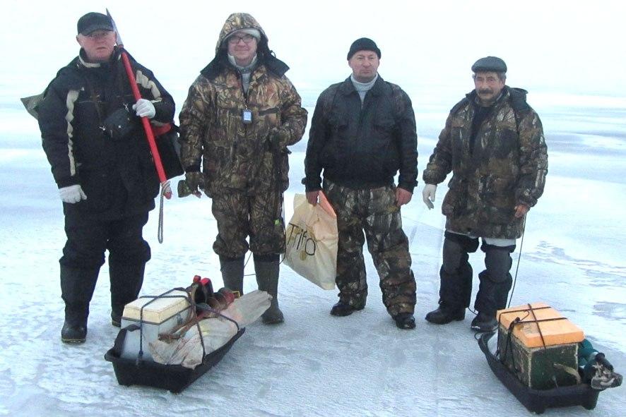 Советы начинающим: Выход на Первый лёд. Опыт. Спасснаряжение.