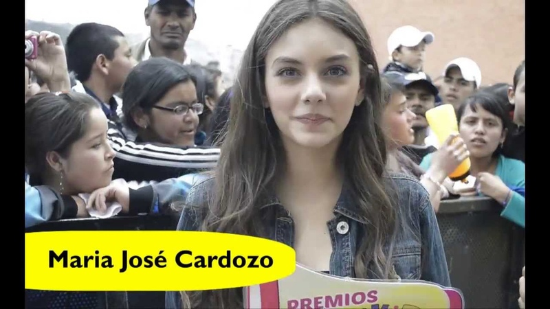 Maria Jose Cardozo invita a los Premios Expokids Colombia 2013