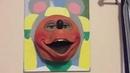 My Mitzi Mozzarella Walk-around Mask Display