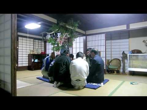 Exorcism in Rural Japan - Annual Shinto Religious Ritual in a Local Village (Urayama Shishimai)