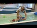 Грудничковое плавание тренер Носова Земине
