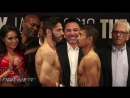 Jorge Linares Mercito Gesta Weigh In
