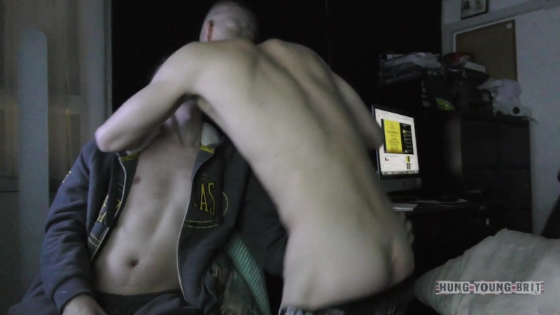 3 UK lads playing xbox Unplanned Raw Fuck n creampie Hung Young Brit Clyde Joshy Boy
