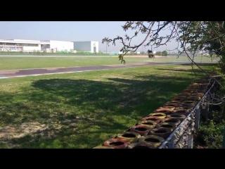Даниил Квят на тестах Pirelli
