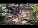 Бурение скважины в деревне Волынь