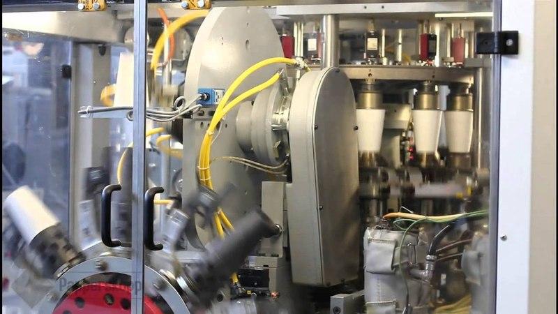 Производство двухслойных бумажных стаканов Papperskopp Rus