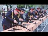 Юные кадеты встретились с начальником ДВД Алматинской области