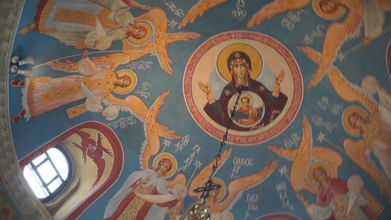 Прославление Божией Матери (Достойно есть…), Престольный праздник храма в честь Св. Луки Крымского военного госпиталя, г. Ряза