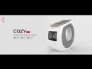 Акустическая система беспроводная зарядка часы будильник Nillkin Cozy MC1