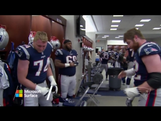 Inside the locker room after the win vs. the Dolphins