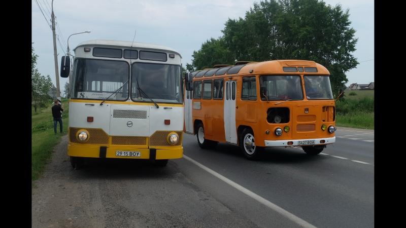 ЛиАЗ-677М снова на улицах Вологды