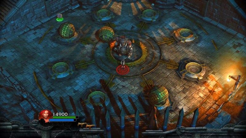 Вырезка из прохождения игры Lara Croft and the Guardian of Light by Memories of Games