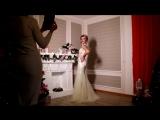 Бэкстейдж со съемок платьев для свадебного салона