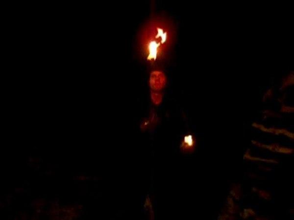 Жонглирование Огнём
