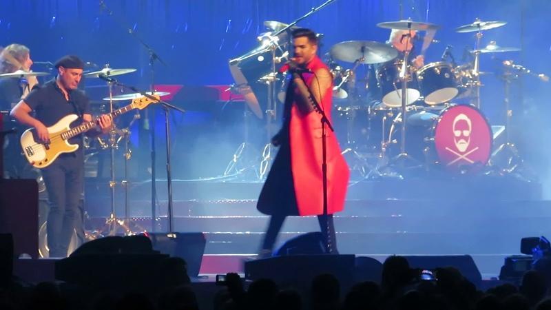 Queen Adam Lambert Seven Seas of Rhye Oslo 2018