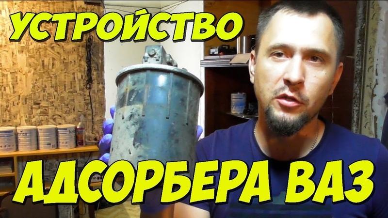 Устройство адсорбера ваз. Чёрный ящик ВАЗа.